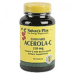 ACEROLA C COMP 250MG MASTICABLE NATURE´S PLUS