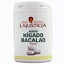 ACEITE HIGADO BACALAO 90 PERLAS LAJUSTICIA