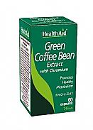 Café Verde con Cromo 60cáps HealthAid