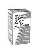 Gluconato de zinc 70mg 90Comp HealthAid