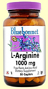 L ARGININA 1000MG 50COMP  BLUEBONNET