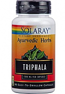 TRIPHALA 500MG 90 CAP SOLARAY