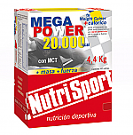 MEGAPOWER 20000 CHOCO 40SOBRES NUTRISPORT