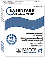Basentabs pH balance 100 comp PASCOE