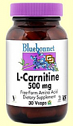 L ARGININA 500MG 30COMP BLUEBONNET