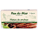 ANCHOAS FILETES ACEI OLIVA ECO 50GR PAN DO MAR