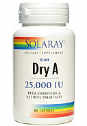 VITAMINA A EMULSIED DRY 60CAP SOLARAY