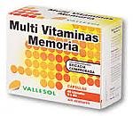 VALLESOL MULTI VITAMINA MEMORIA 40C DIAFARM