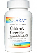 CHILDRENS MASTICABLE 60COMP SOLARAY