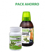 PACK AHORRO GREEN COFFEE 60CAP + 500ML PLANTAPOL