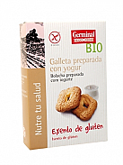 GALLETAS YOGURT S/G BIO 200GR  GERMINAL