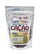 CACAO PASTA CRUDO Y ECOLÓGICO 250GRS MUNDO ARCOIRIS