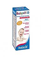 Babyvit®-D Gotas 50ml HealthAid