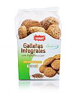 GALLETAS INTEGRALES ESPELTA LINO 200G SANAVI