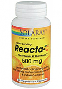 REACTA C 500MG 60CAP SOLARAY