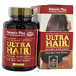 ULTRA HAIR PLUS+MSM 60COMP NATURE´S PLUS