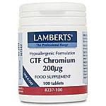 CROMO GTF 200MG 100CAP LAMBERTS