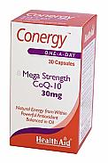 Conergy™ (CoQ-10) 30mg 30Cáps HealthAid
