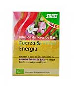 BACH INF FUERZA Y ENERGIA 15 BOLSITAS SALUS