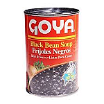 FRIJOL NEGRO PEQ GUISADOS LATA 425G GOYA