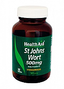 Hipérico (Hypericum perforatum) 500 mg 30 Comp HealthAid