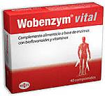 WOBENZYM VITAL 40 COMP DIAFARM