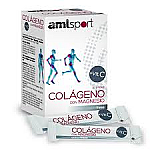 COLAGENO+MAGNESIO+VITC 20 STICKS AMLSPORT