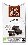 BOMBON CORAZON RELLENO CHOCOLATE BIO S/G STEVIA 100GR BELVAS