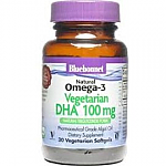 NATURAL OMEGA 3 VEGETAL DHA 30CAP BLUEBONNET