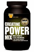 CREATINE POWER MIX NARANJA/MANGO 1 KG  Gold Nutrition