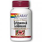 GOLDENSEAL  EQUINACEA 460 60 CAP SOLARAY