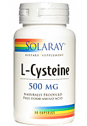 CISTEINA 500MG 30CAP SOLARAY