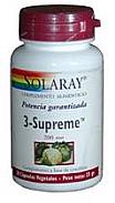 3 SUPREME 30 CAP 200MG SOLARAY