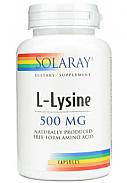 LYSINA 500MG 60CAP SOLARAY