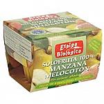 SOLOFRUTA 100% MANZANA MELOCO S/A 2x100GR ESPIGA BIOLOGICA