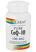 COENZIMA Q10 100MG 30CAP SOLARAY