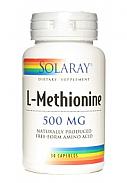 METIONINA 500MG 30CAP SOLARAY