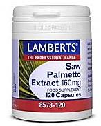 SAW PALMETTO 160MG 120CAP LAMBERTS