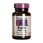 BIOTINA 5000MG 60CAP BLUEBONNET