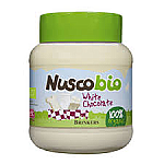CREMA CHOCOLATE BLANCO 400G NUSCOBIO