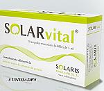 SOLARVITAL 20AMPOLLAS PACK 3 UNDIDADES SOLARIS
