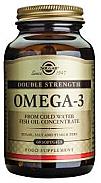 OMEGA 3 double strength 60 PERLAS SOLGAR