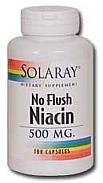 NIACIN (NO RUBORIZANTE)100CAP SOLARAY