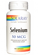 SELENIO 50MG 100CAP SOLARAY