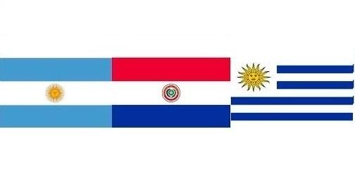 Paraguay, Argentina y Uruguay
