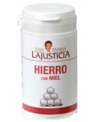 HIERRO CON MIEL 135GR LAJUSTICIA