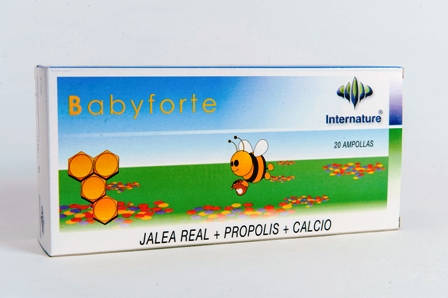 BABYFORTE 20 AMPOLLAS INTENATURE