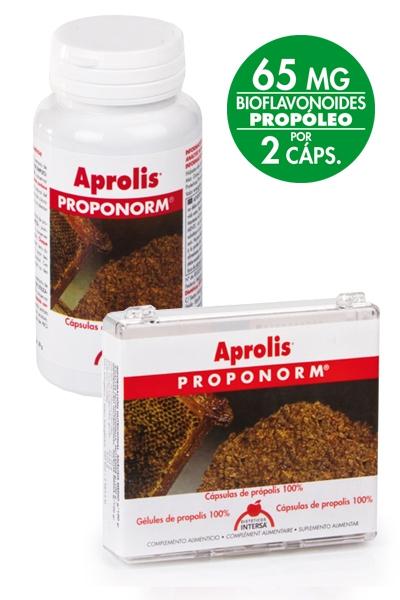 APROLIS PROPONORM 60 CAP INTERSA