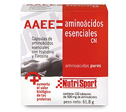 AMINOACIDOS ESENCIALES 100 CAP NUTRISPORT