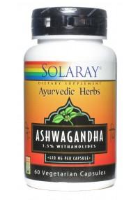 ASHWAGANDHA 60 CAP SOLARAY